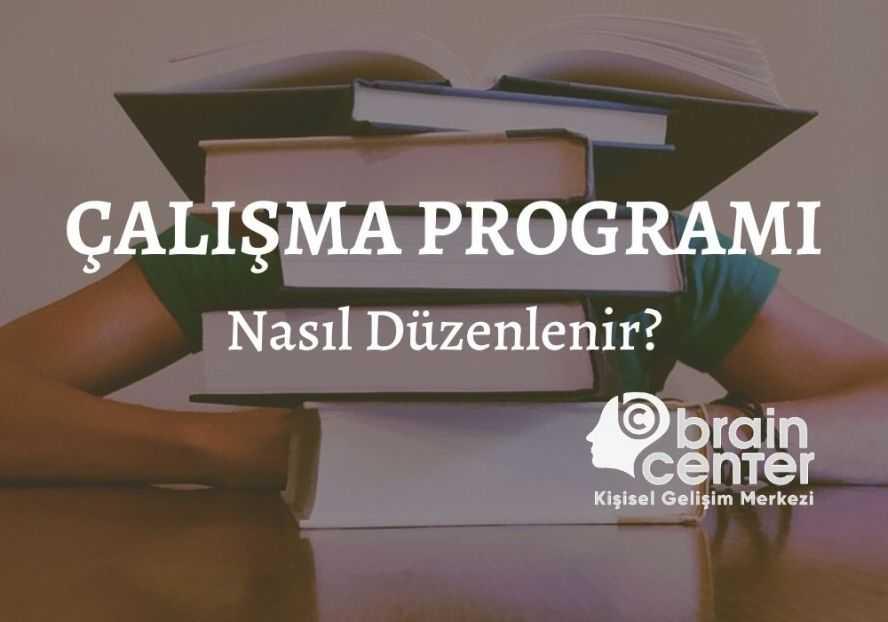 7 sınıf ders çalışma programı